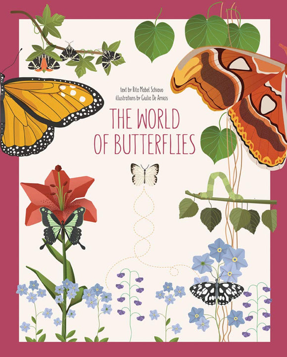 The World of Butterflies (Hardback)