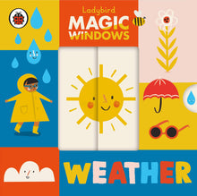 Load image into Gallery viewer, Magic Windows: Weather (Board Book)