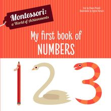 Load image into Gallery viewer, Montessori: A World of Achievement - My First Book of Numbers (Board Book)