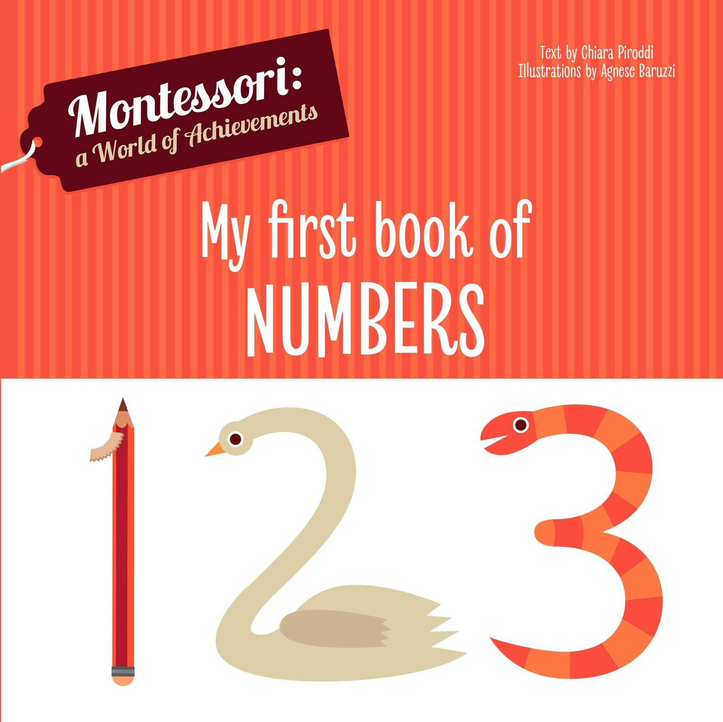 Montessori: A World of Achievement - My First Book of Numbers (Board Book)