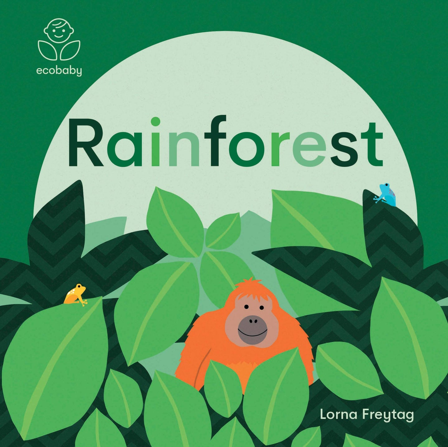 Eco Baby: Rainforest (Board Book)