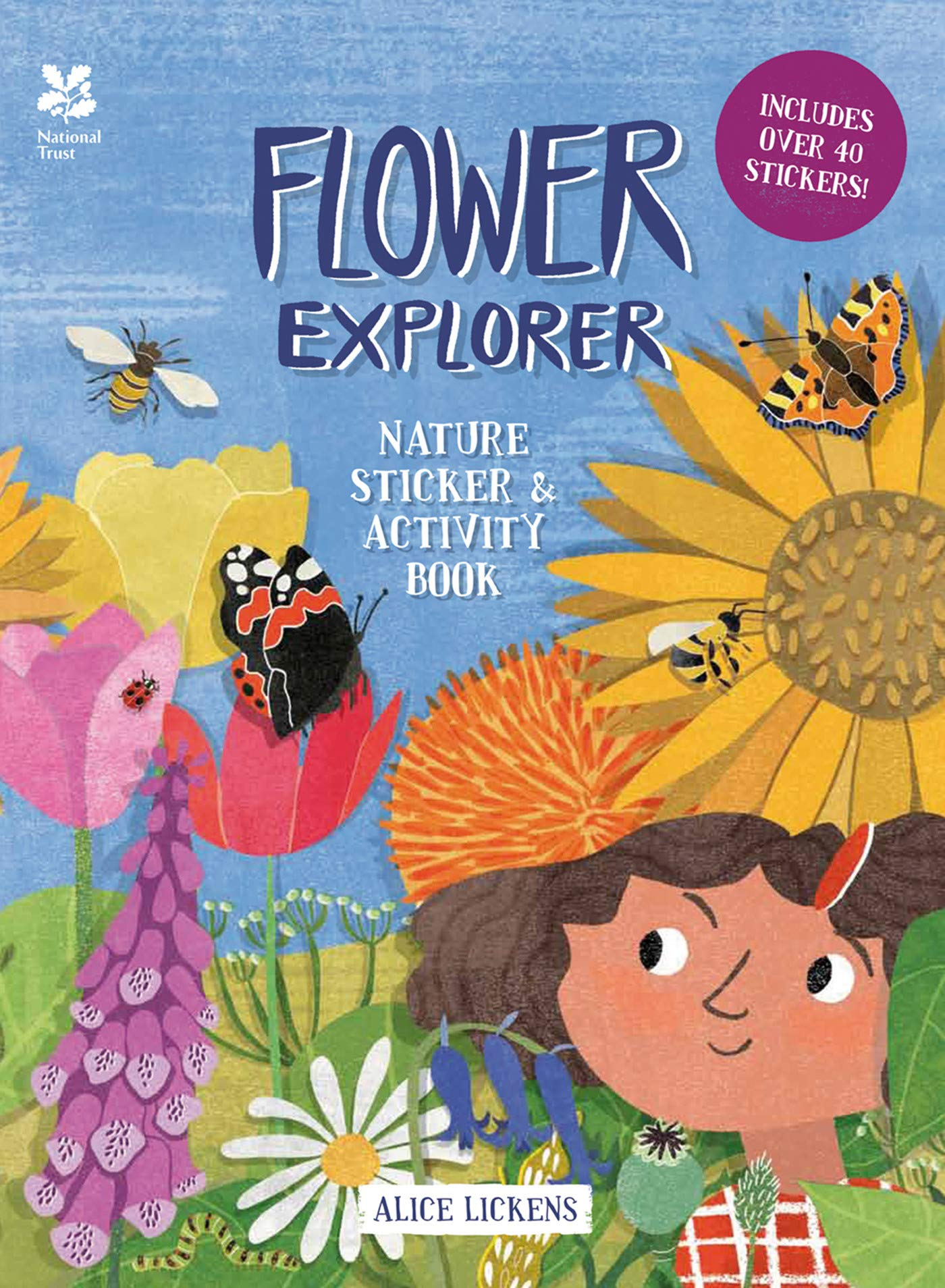Flower Explorer: Nature Sticker & Activity Book (Paperback)