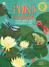 Load image into Gallery viewer, Pond Explorer: Nature Sticker & Activity Book (Paperback)