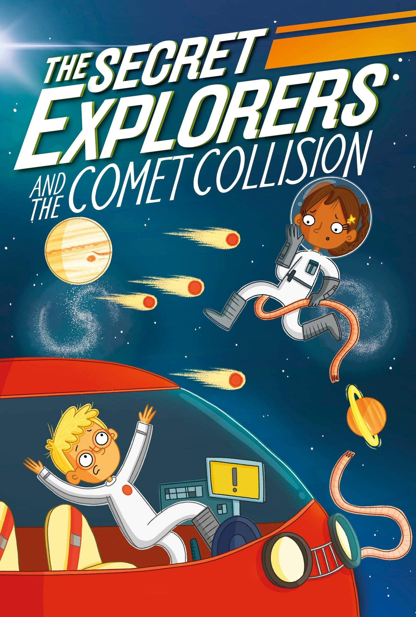 The Secret Explorers and the Comet Collision (Paperback)