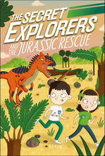 Load image into Gallery viewer, The Secret Explorers and the Jurassic Rescue (Paperback)