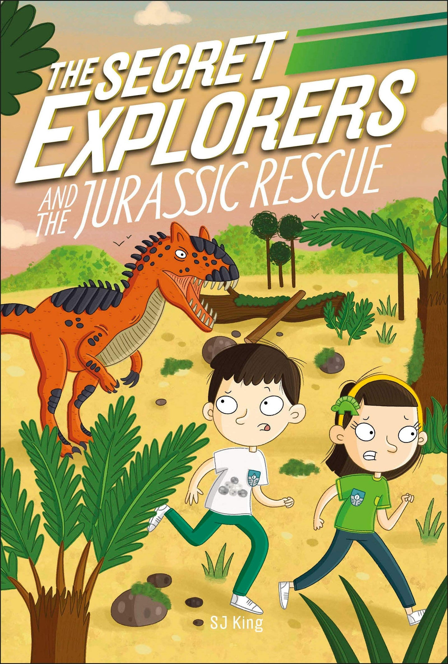 The Secret Explorers and the Jurassic Rescue (Paperback)