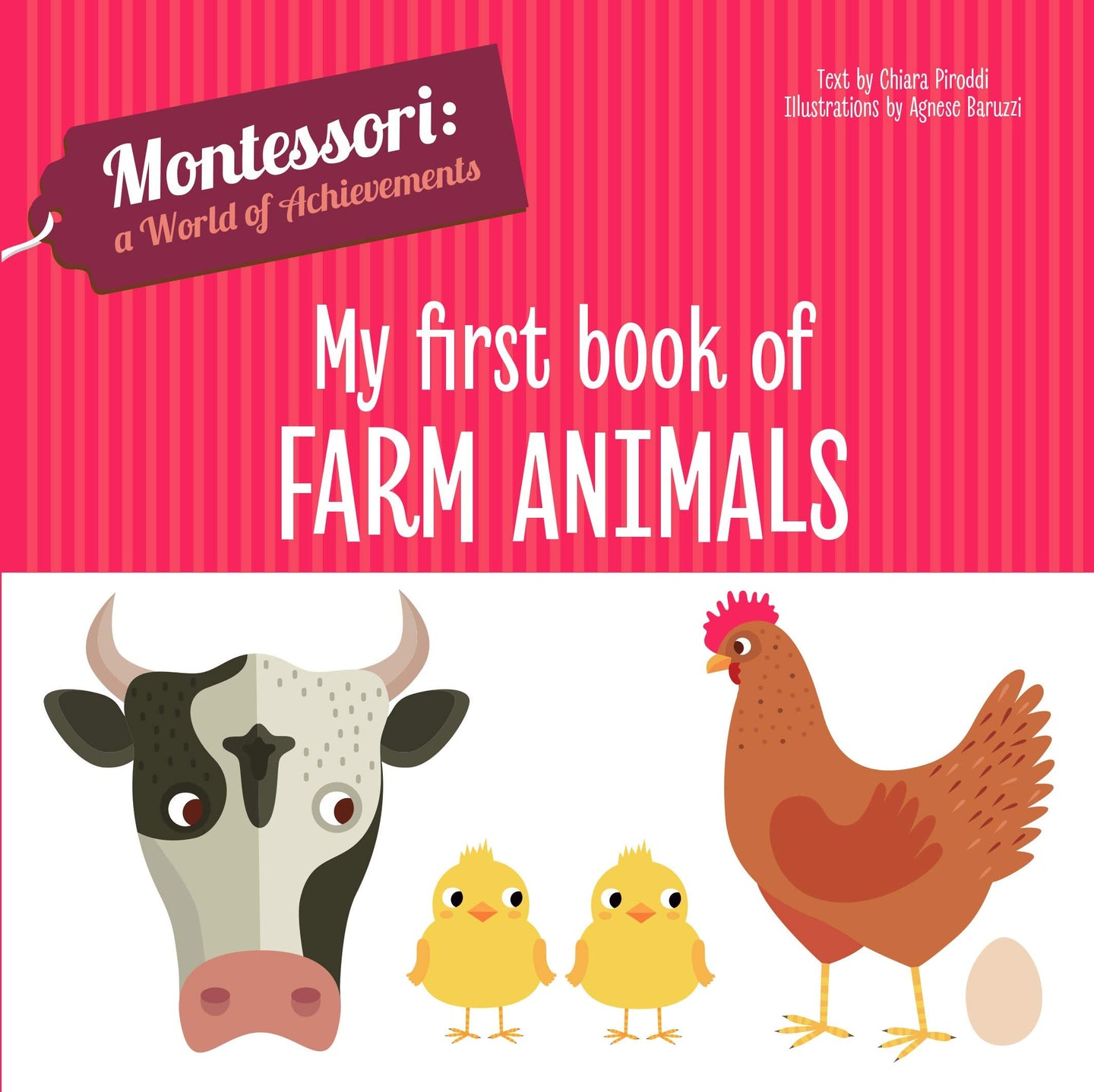Montessori: A World of Achievement - My First Book of Farm Animals (Board Book)