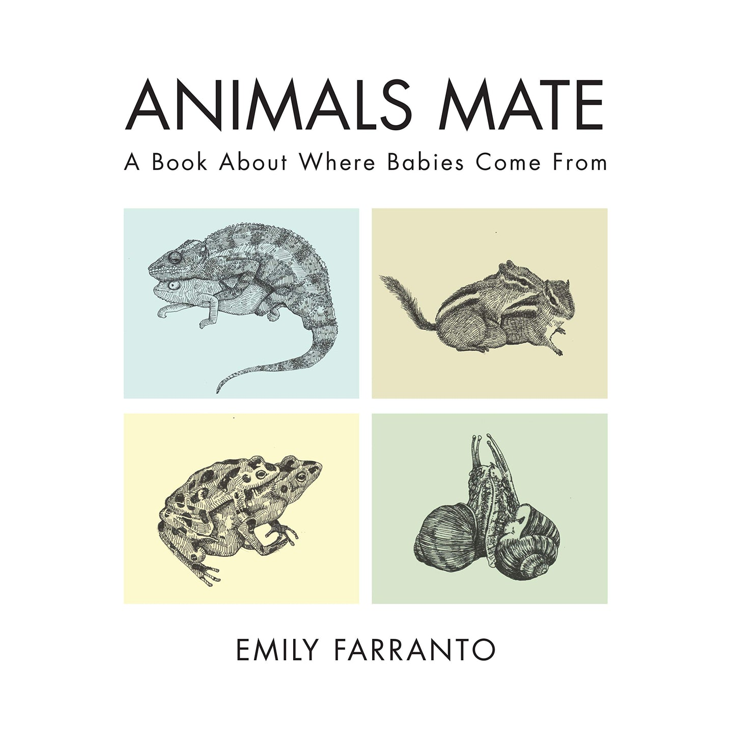 Animals Mate: A Book About Where Babies Come From (Hardback)
