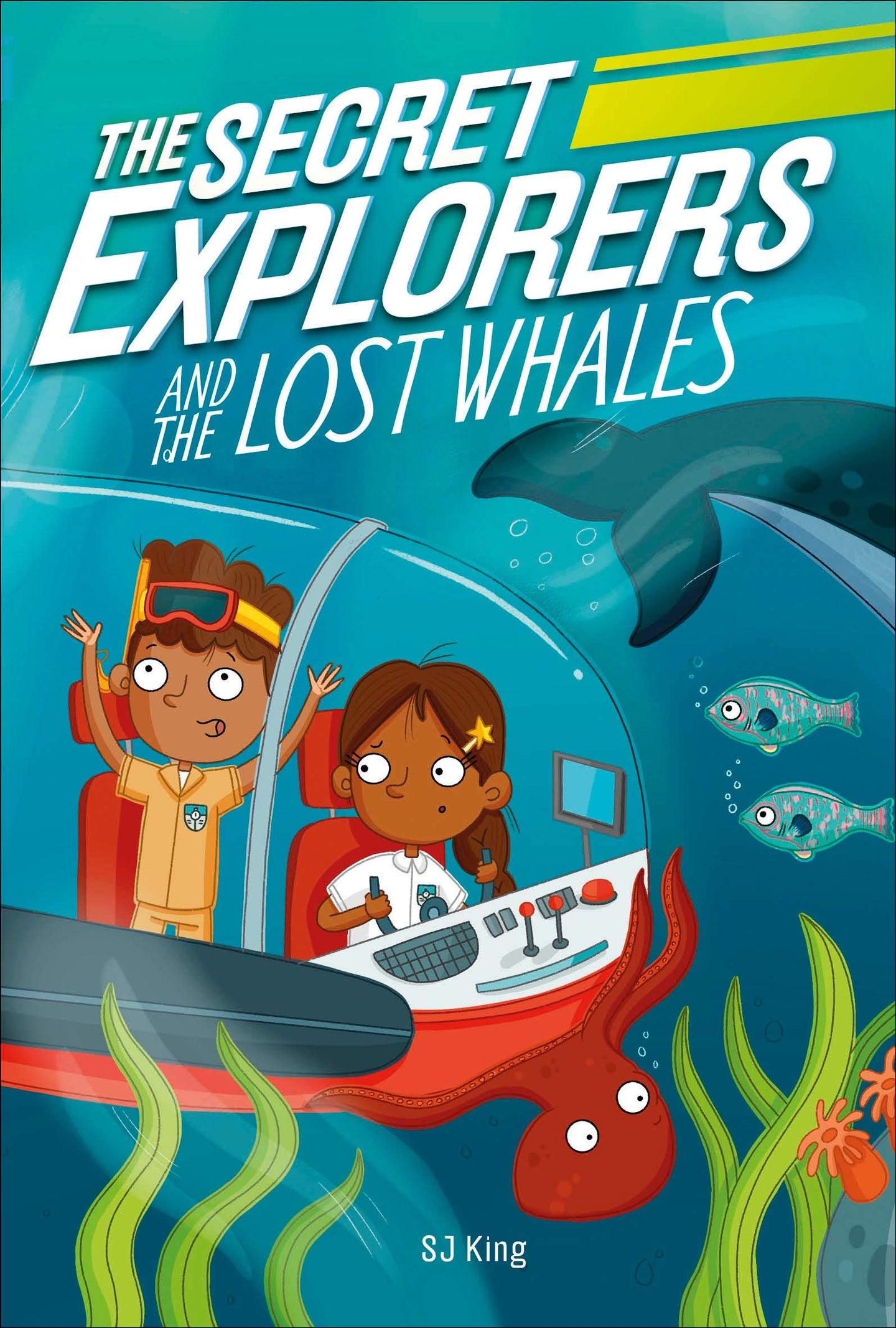 The Secret Explorers and the Lost Whales (Paperback)