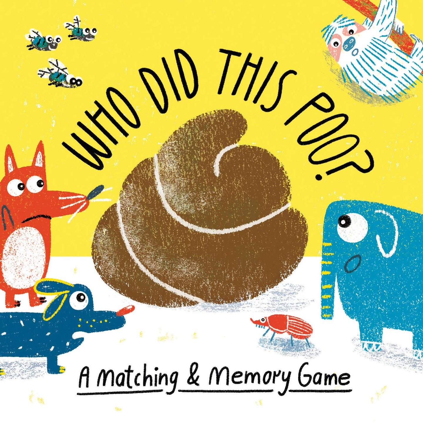 Who Did This Poo? : A Matching & Memory Game (Card Game)