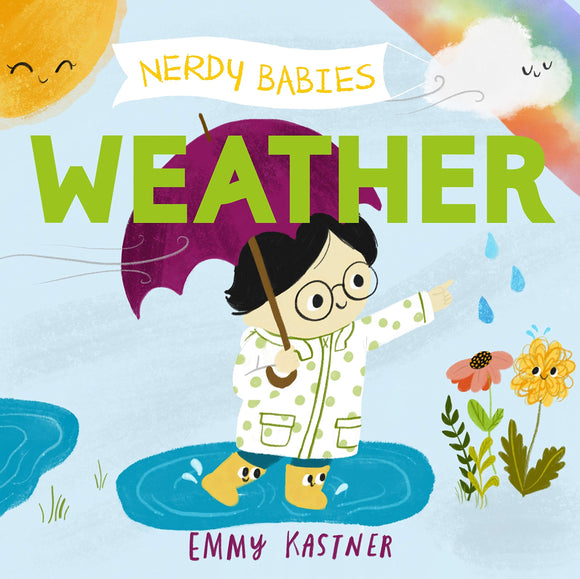 Nerdy Babies : Weather (Board Book)