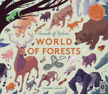 Load image into Gallery viewer, Sounds of Nature: World of Forests (Hardback)