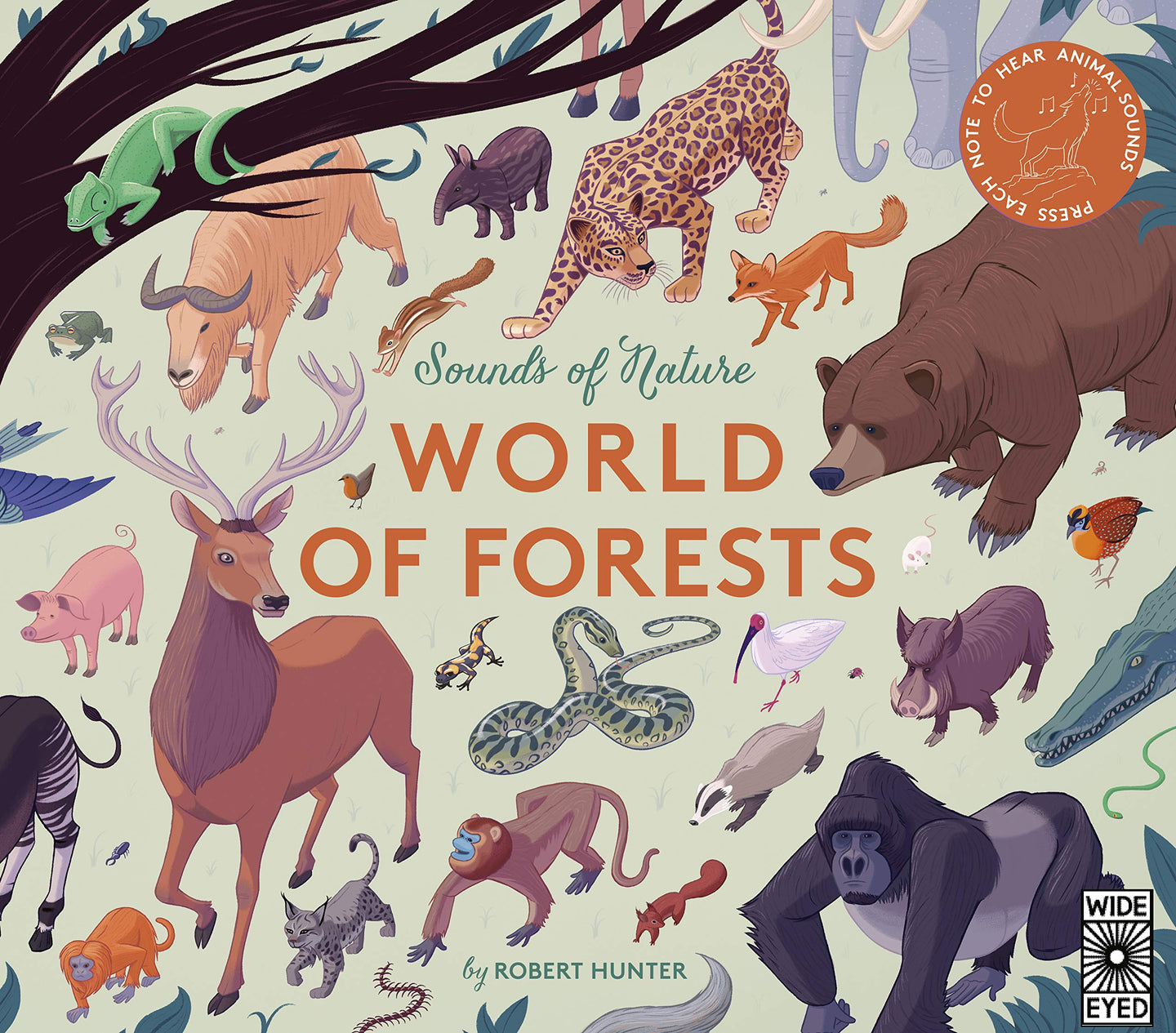 Sounds of Nature: World of Forests (Hardback)