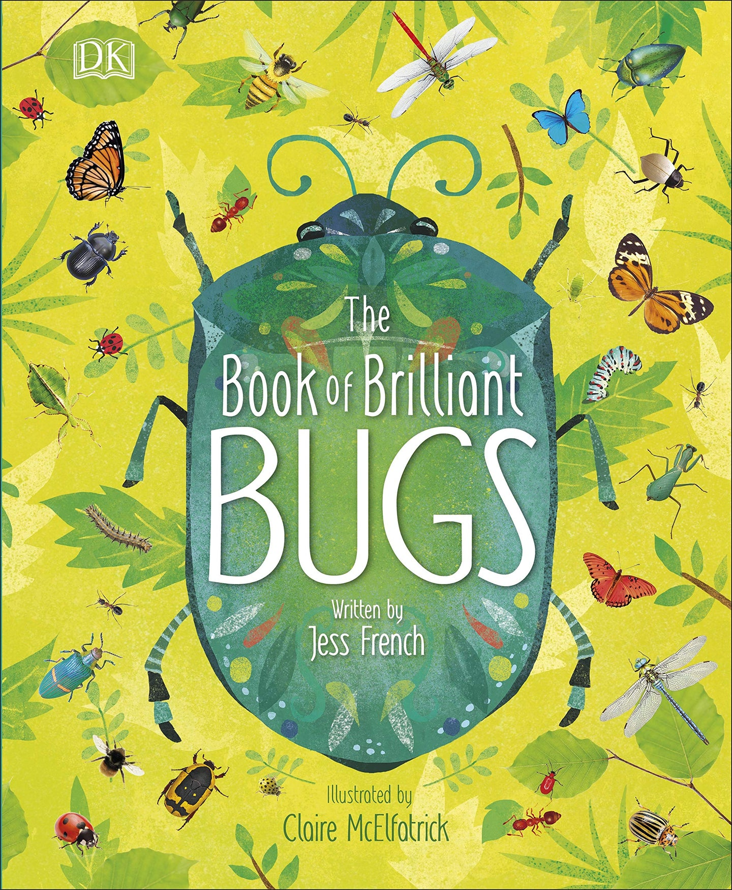 The Book of Brilliant Bugs (Hardback)