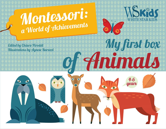 My First Box of Animals - Montessori: A World of Achievements (Box Set)