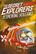 Load image into Gallery viewer, The Secret Explorers and the Smoking Volcano (Paperback)