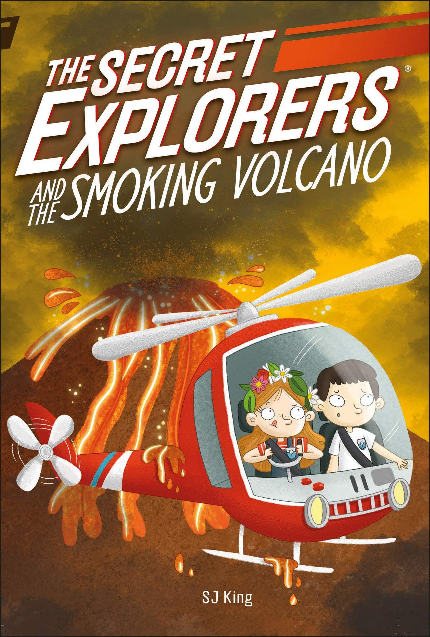 The Secret Explorers and the Smoking Volcano (Paperback)