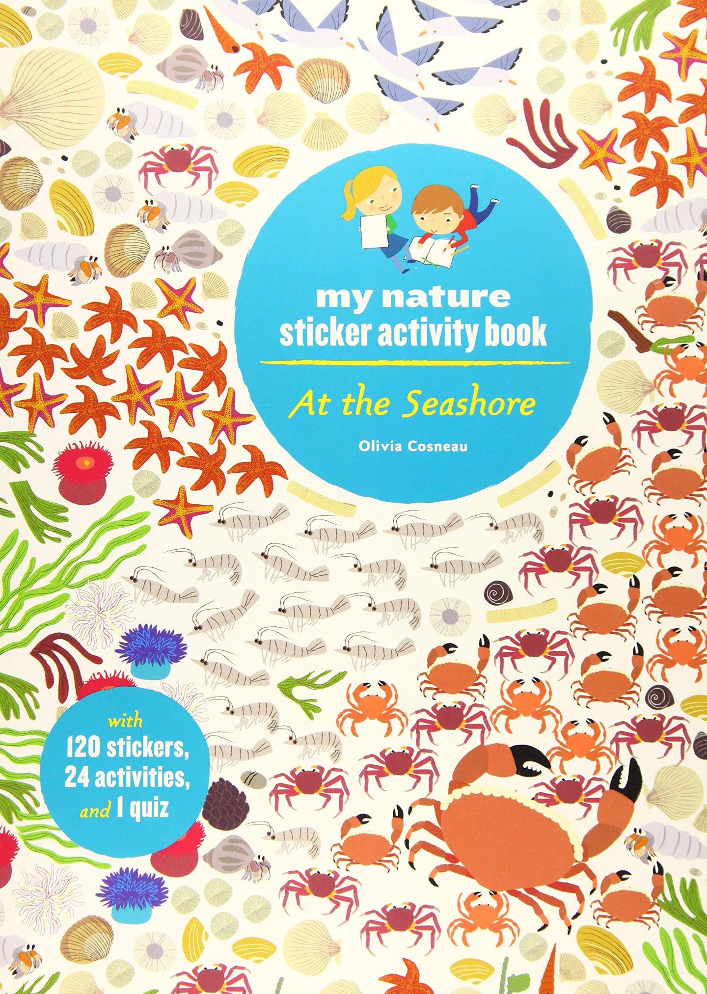 My Nature Sticker Activity Book - At the Seashore (Paperback)
