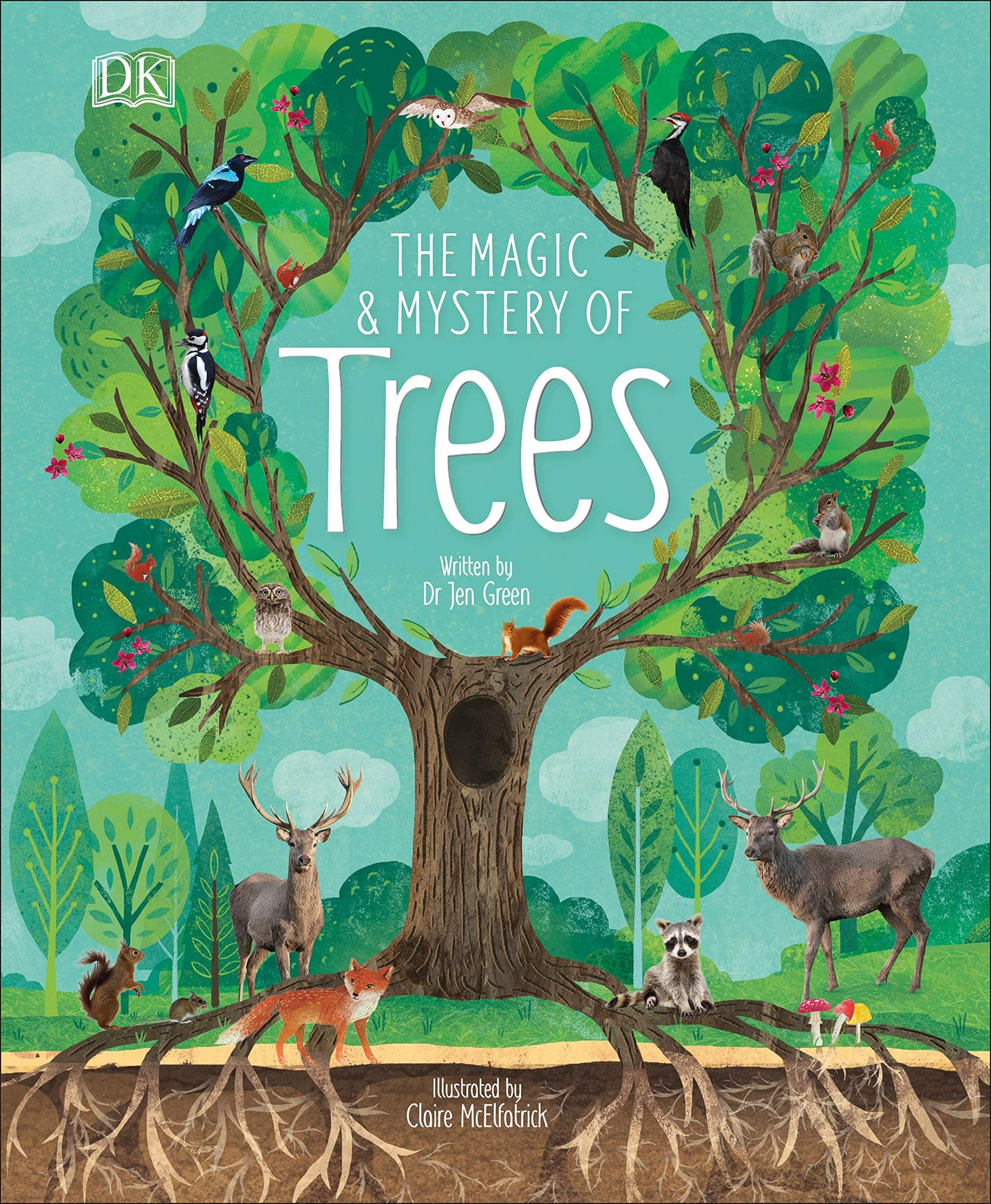 The Magic and Mystery of Trees (Hardback)