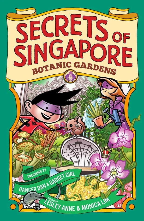 Secrets of Singapore: Botanic Gardens (Paperback)