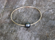 Load image into Gallery viewer, Tahitian Pearl Bangle #2