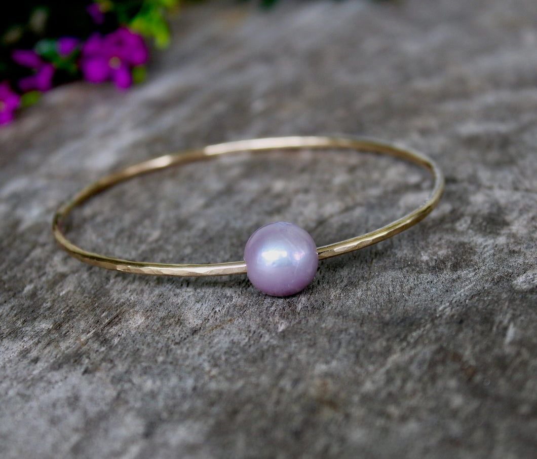 Edison Pearl Bangle