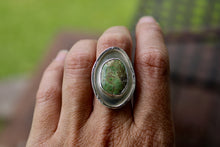 Load image into Gallery viewer, Paniolo Green Turquoise Ring