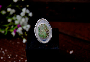 Paniolo Green Turquoise Ring