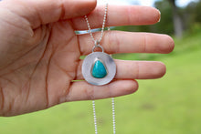 Load image into Gallery viewer, Stoney Circle Pendant #2