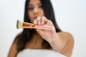 Bronzer Brush (B104) - Bezara Cosmetics
