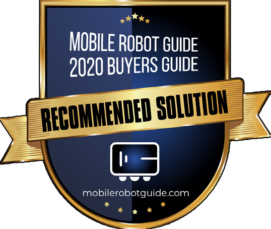 UVD Robots - Mobile Robot Guide Recommended Solution Badge