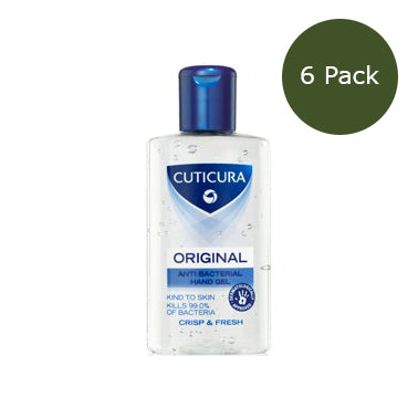 100ml Hand Sanitiser Gel - 66% Alcohol - Pack of 6