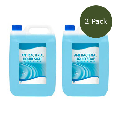 5 Litre Anti-Bacterial Liquid Soap - Pack of 2