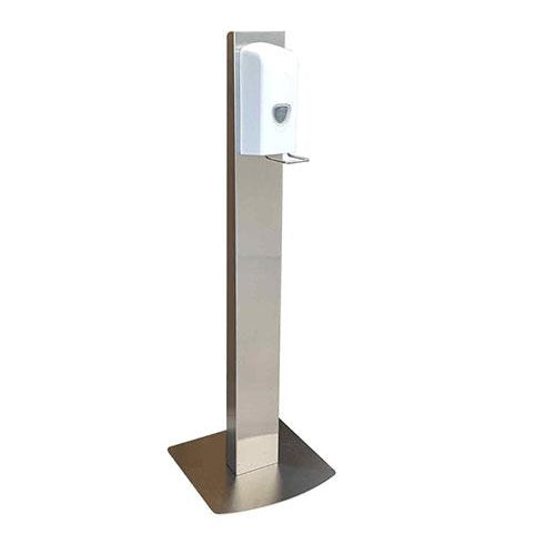 Handsfree Sanitiser Station - White/Silver