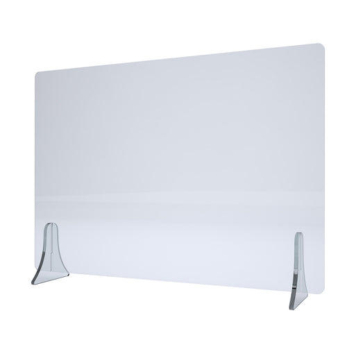 Rexite Plexy Transparent Protective Screen - Large (W100 x H60cm)