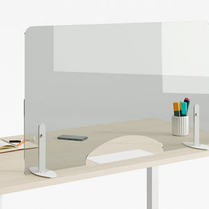 Self-Supporting Protective Desk Screen