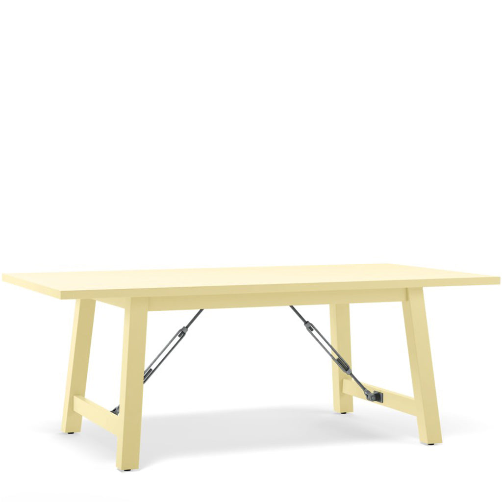 Cable Lock Dining Table - Painted Top