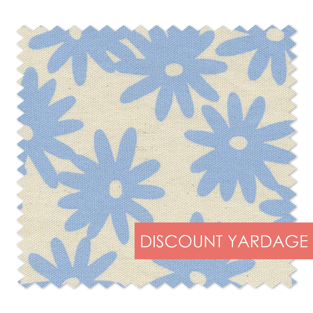 Crazy Daisy: Nikko blue<br> (50+ Yards Available )