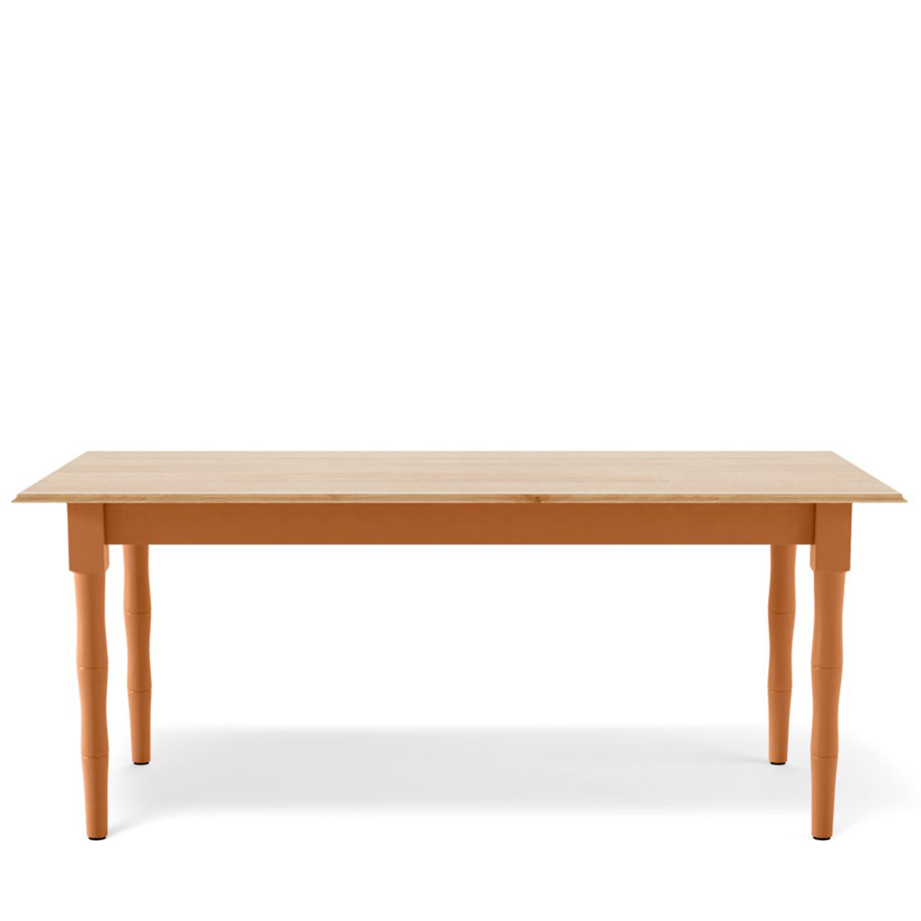 Breakers Dining Table - Oak Top