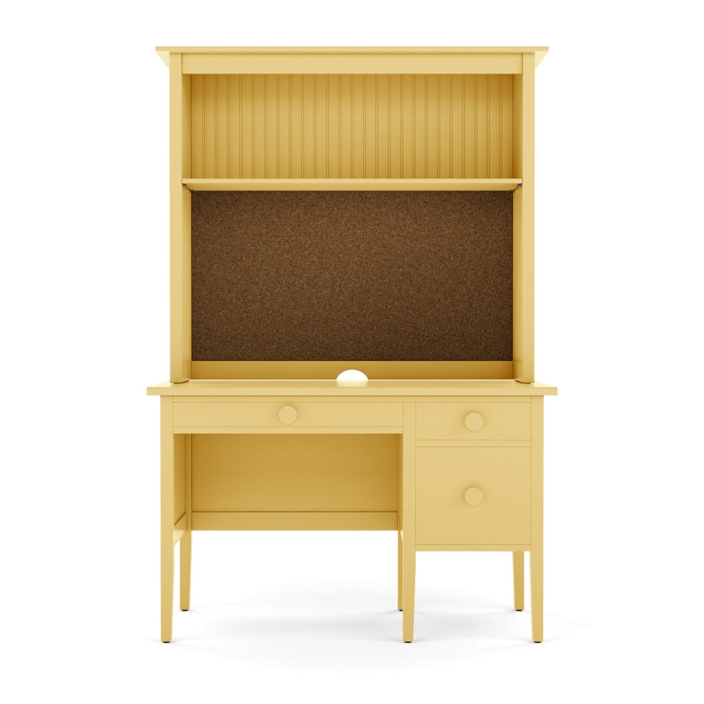 Little Cay Desk with Cork Hutch
