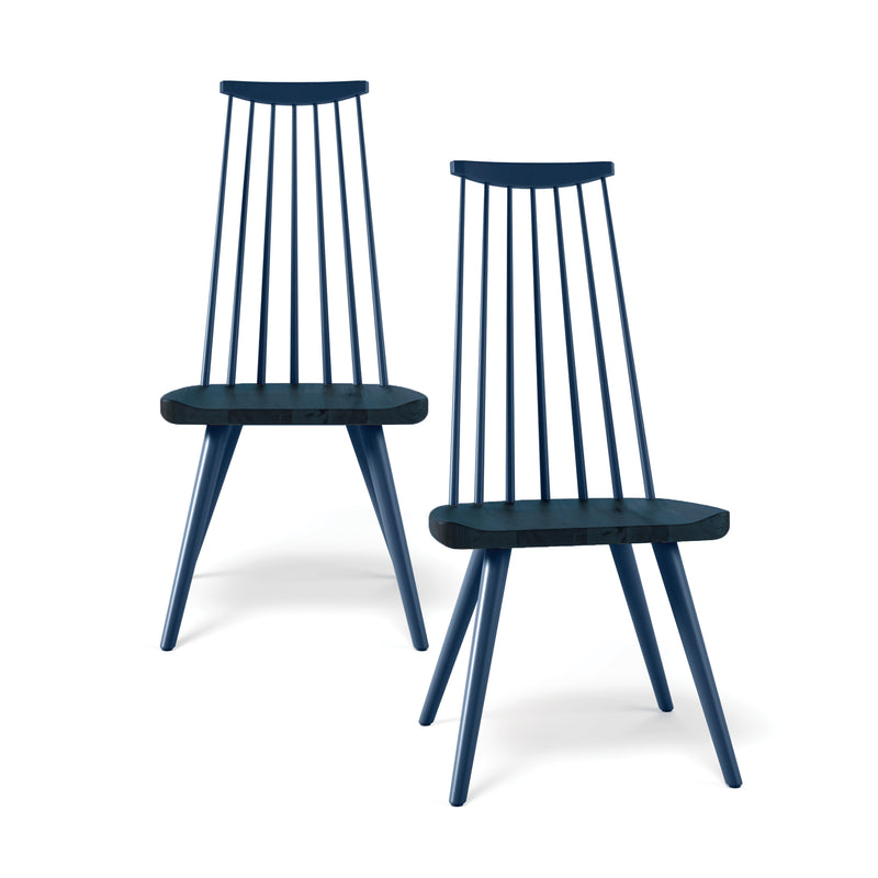 Nora Dining Chair Pair in Marine - SALE