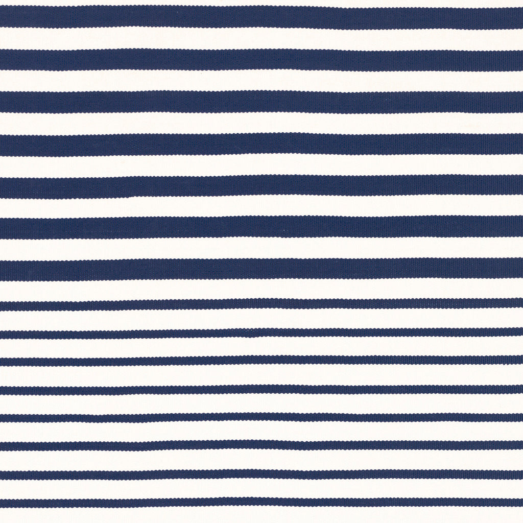 Port Stripe Indoor Outdoor Rug - Navy
