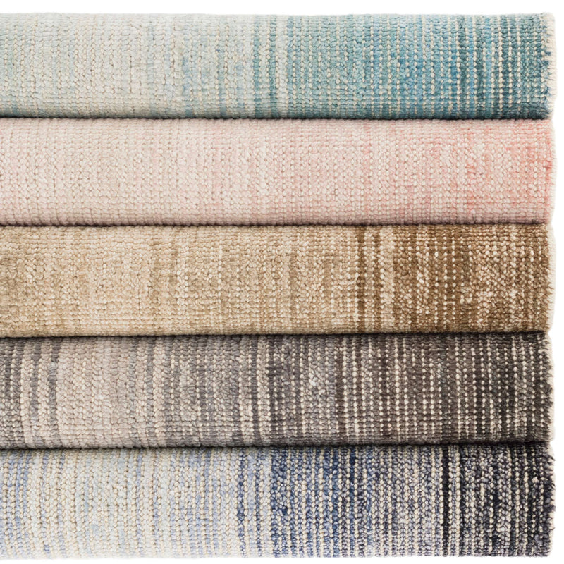 Moon Cotton Viscose Woven Rug - Sand