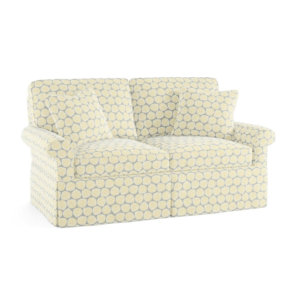Wilton Skirted Loveseat