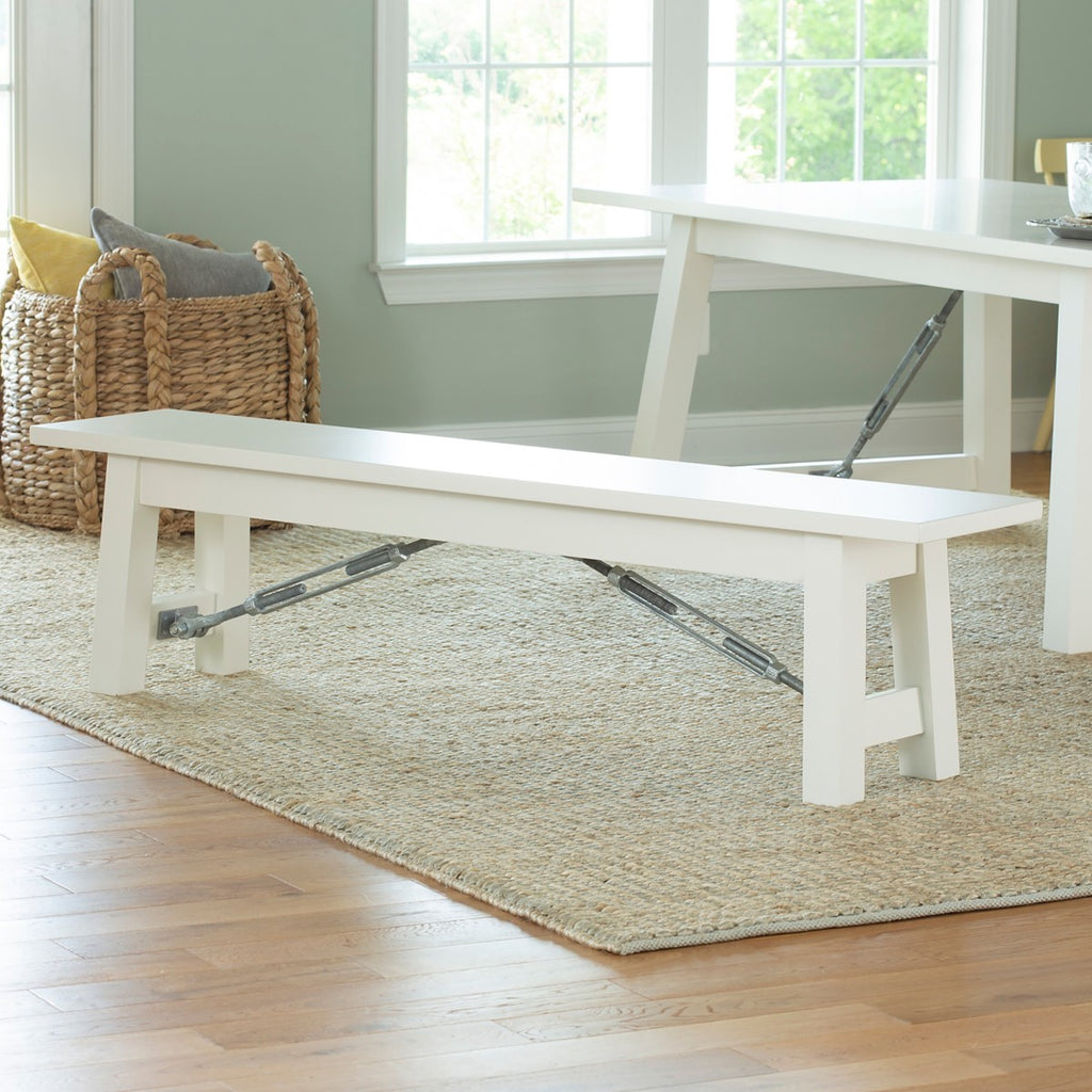 Cable Lock Dining Bench