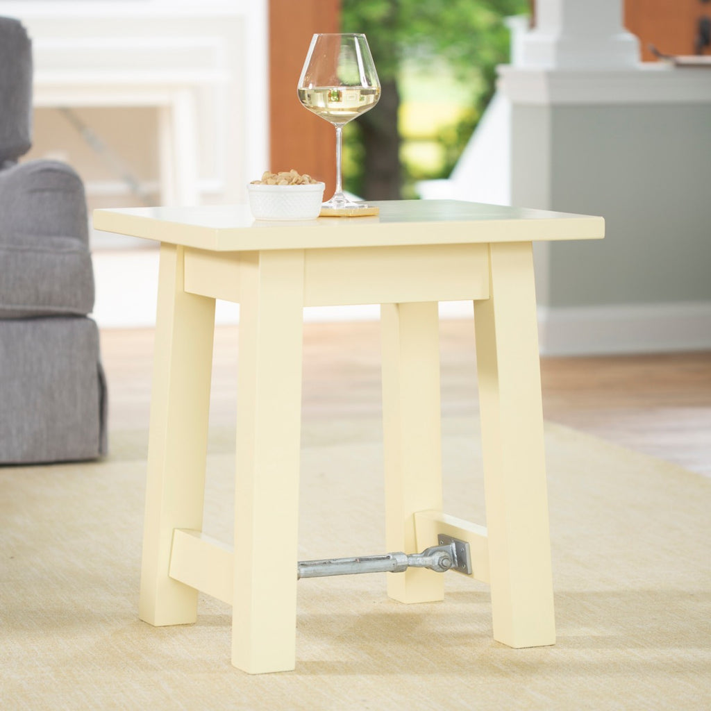 Cable Lock End Table