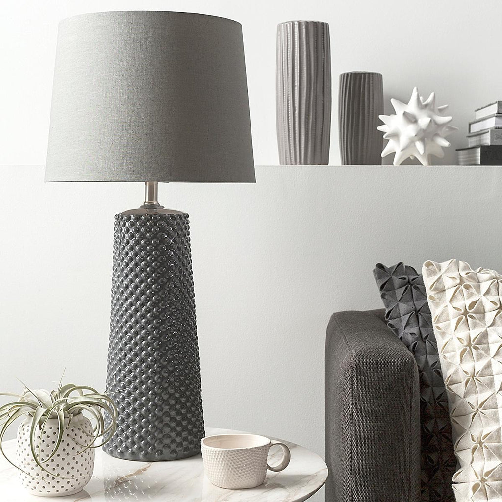 Clayton Table Lamp - Gray