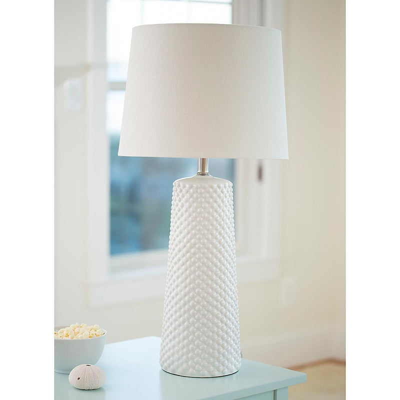 Clayton Table Lamp - White
