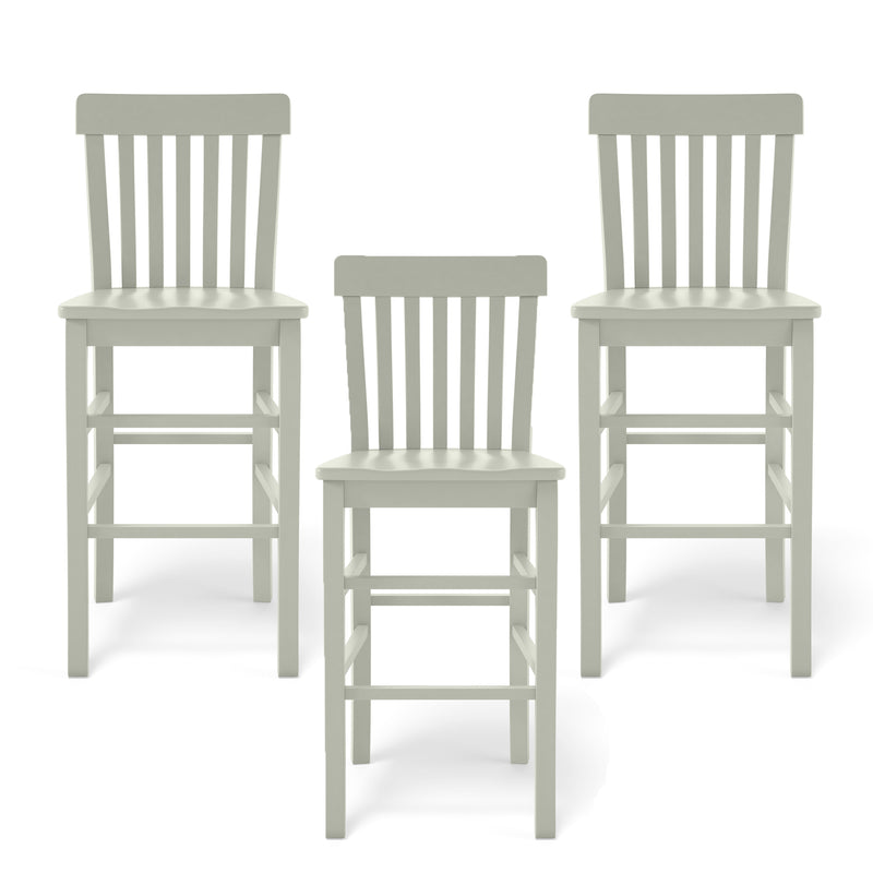 Cokie Bar Stool Trio in Oyster - SALE