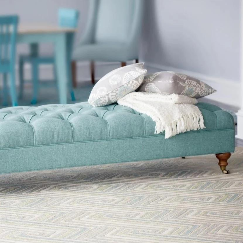 Delilah Tufted Bench